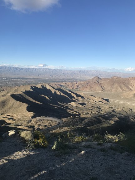 View of the Coachella Valley