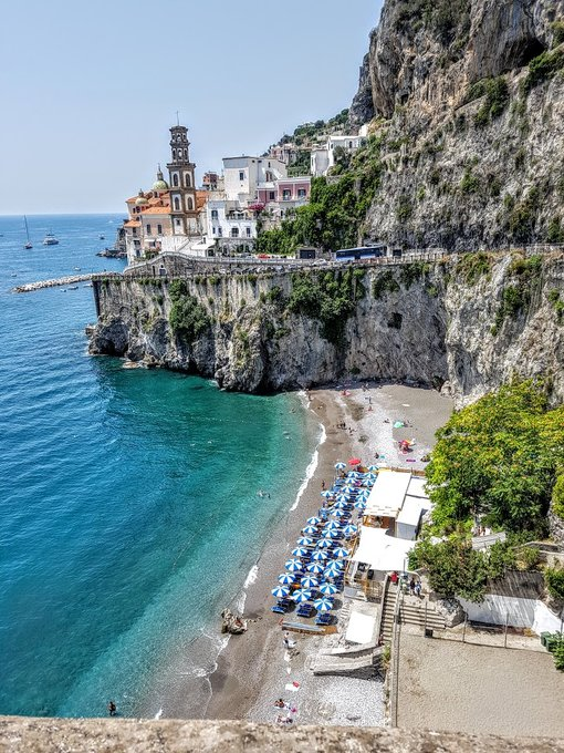 A Hidden Treasure, Castiglione Beach on The Amalfi Coast, Italy
