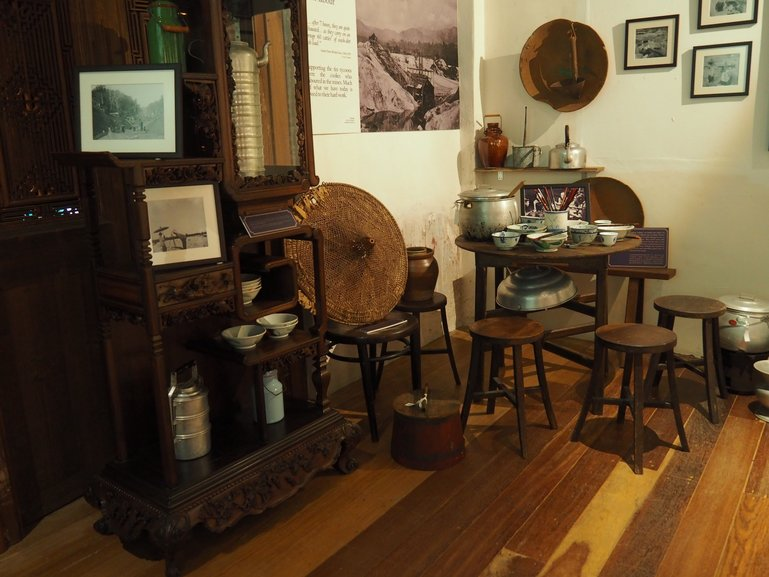 Antiques on display at Hale Street 22 Gallery depict life as it was back in the tin mining days of Ipoh