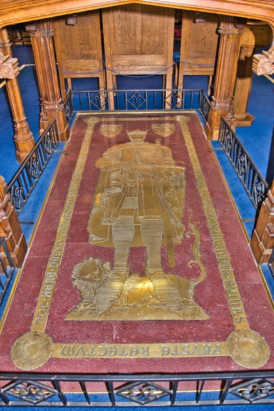 The last resting place of Robert the Bruce