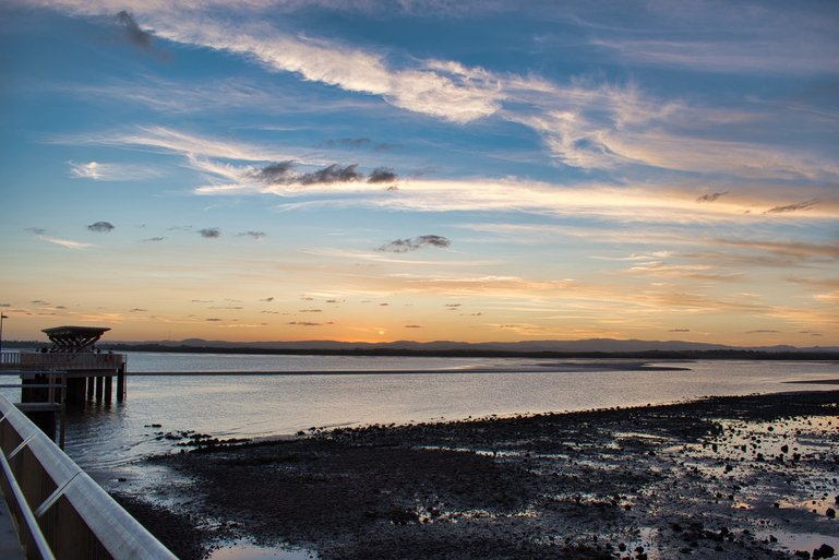 Watch the sunset from the old Hornibrook Bridge at Clontarf