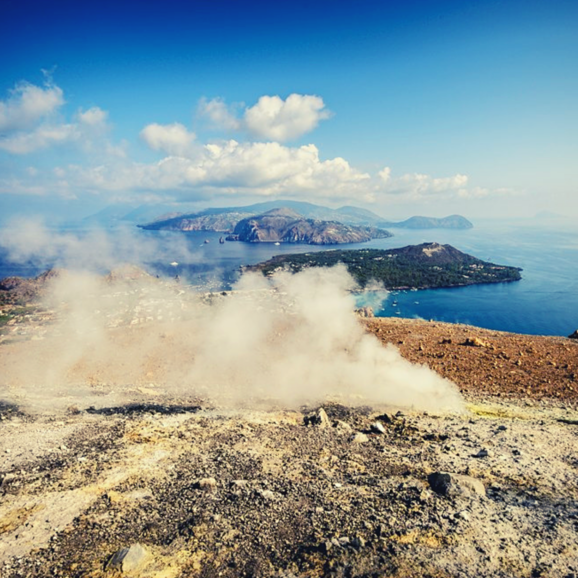 Vulcano of the Aeolian islands, photo courtesy of Jos Dielis