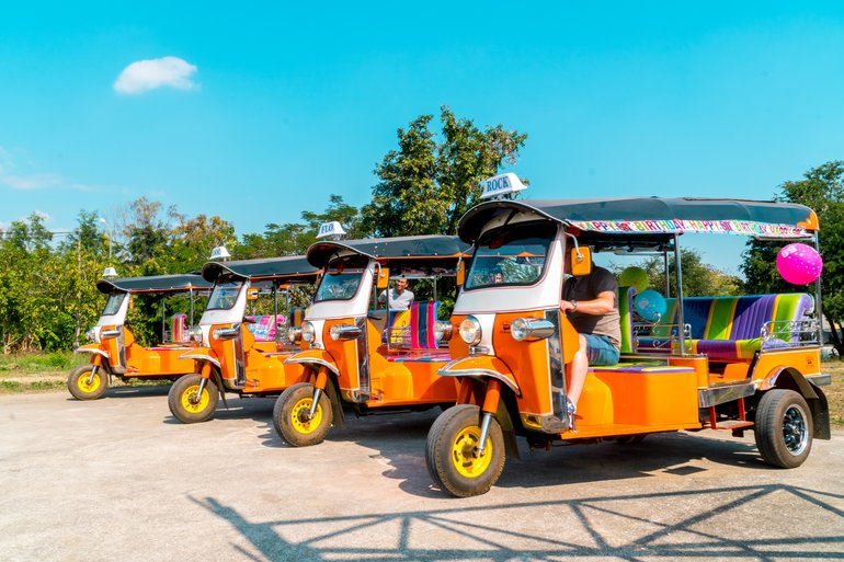 TUK TUKS READY TO GO