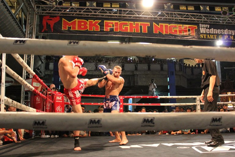 Fight Night, MBK Center, Bangkok