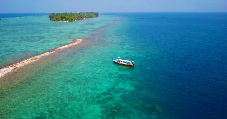 Snorkeling around Tidung Island