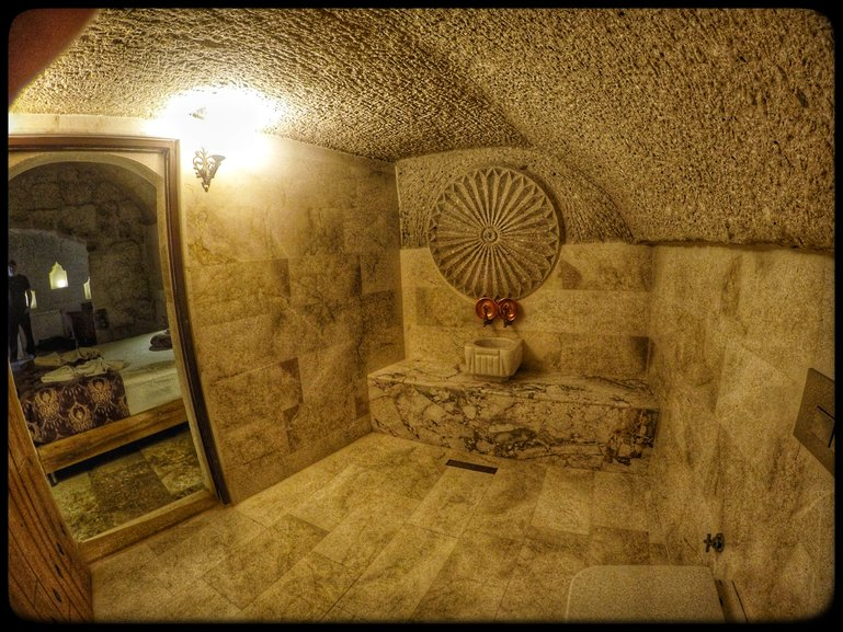 Hammam in Suite
