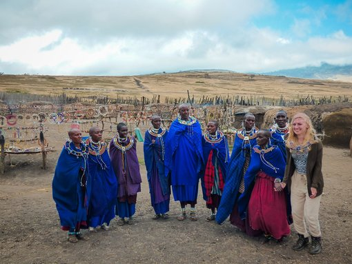 Meeting the Maasai tribe in Tanzania
