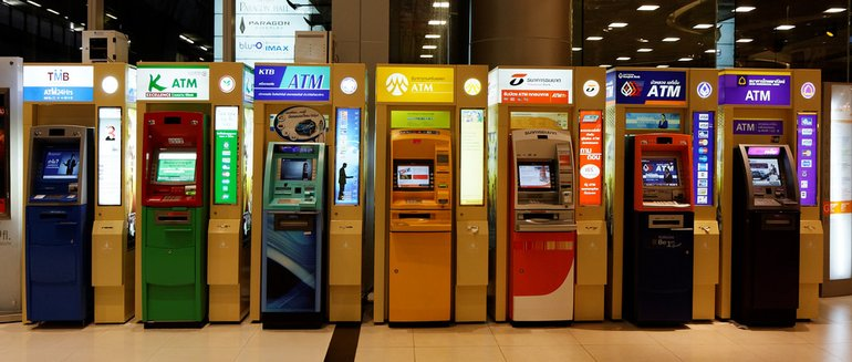 ATMs in Bangkok, by Dennis Wong