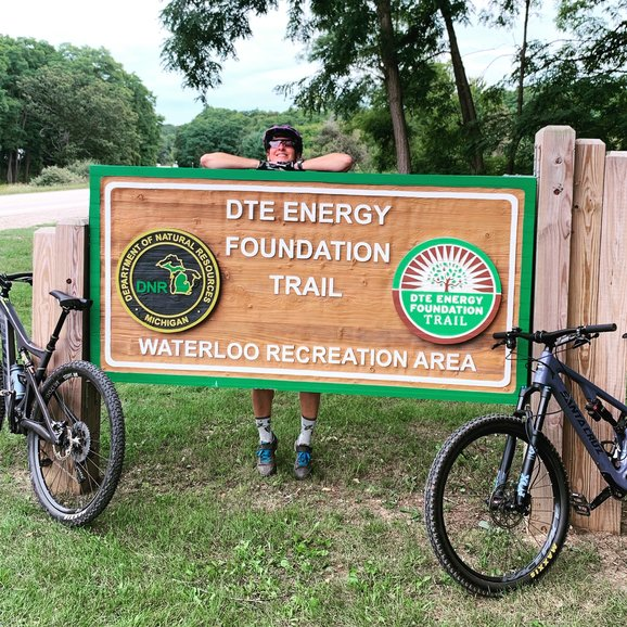 DTE Trails near Ann Arbor, Michigan