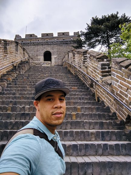 There are numerous great spots to take selfies on the Mutianyu Great Wall