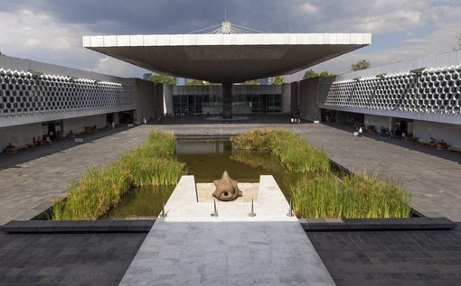 National Museum of  Anthropology and History in Mexico City
