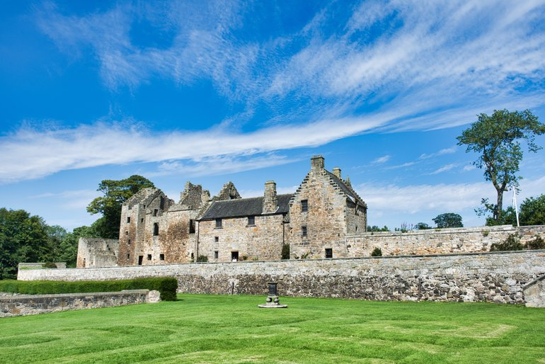 Aberdour Castle and grounds