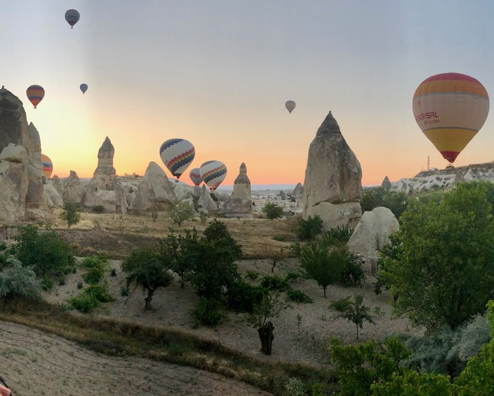 The Balloons over Göreme, Turkey