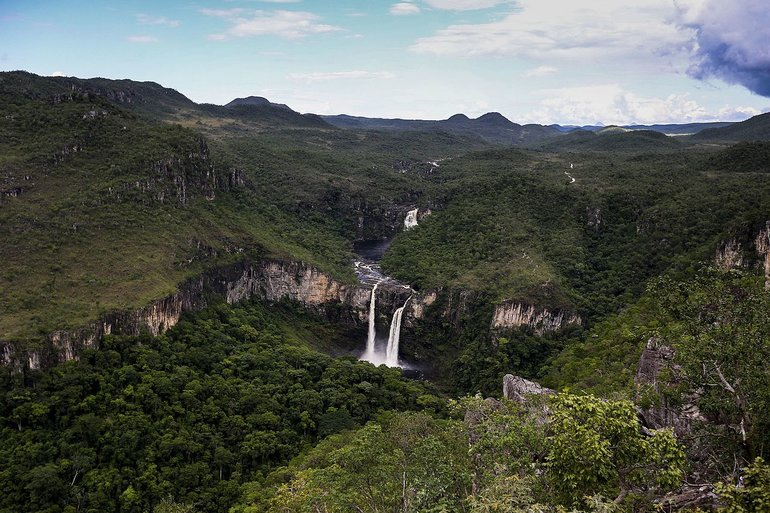 Chapada dos Veadeiros National Park (photo credit in the bottom of the page)