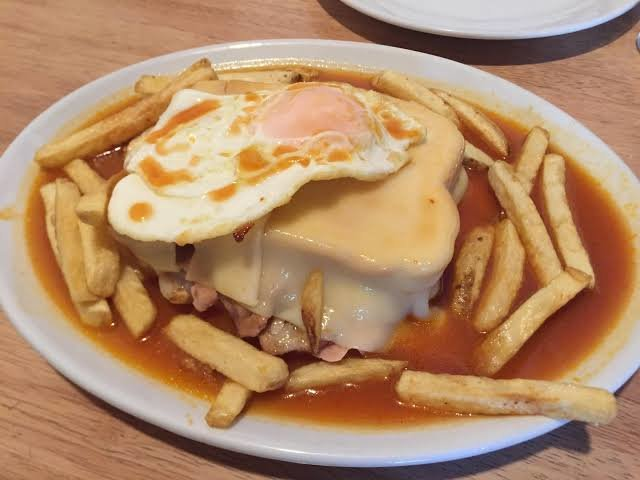Typical Porto lunch - a francesinha