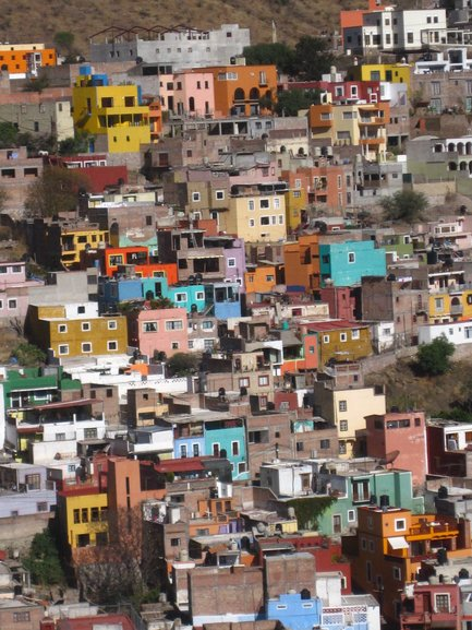 Multi-Coloured Houses of Guanajuato