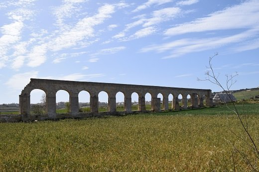 The Gozitan aqueducts