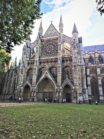 Westminster Abbey from the outside