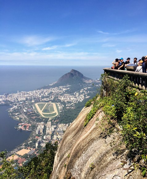 View from the Christ the Redeemer statue