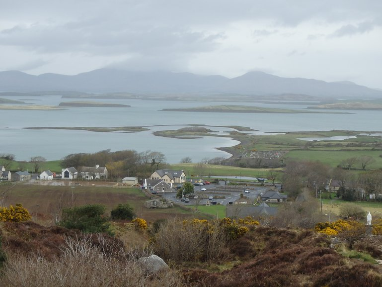 View from Croagh Patrick, Westport