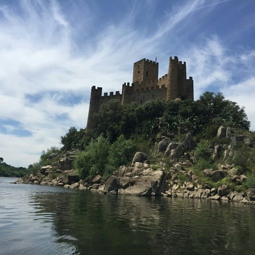 Templars Castle of Almourol, Portugal