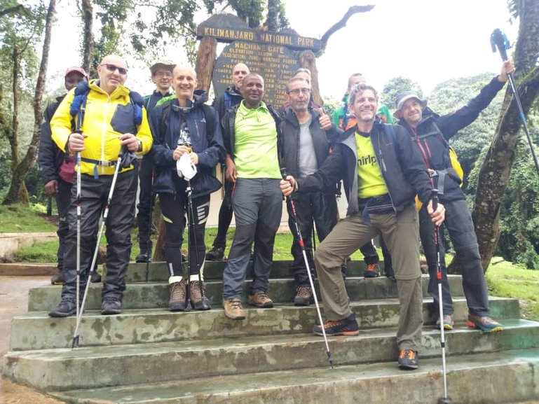 The Starting Point of the Machame Route