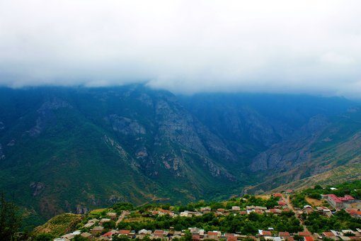 Visiting Tatev Monastery in Armenia