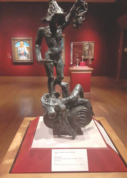 Perseus - Homage to Benevenuto Cellini (1976)  Salvador Dali  Bronze, gift to the Museum