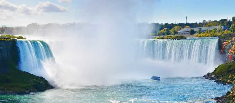 Add on the Hornblower Cruise to see the Falls up close!