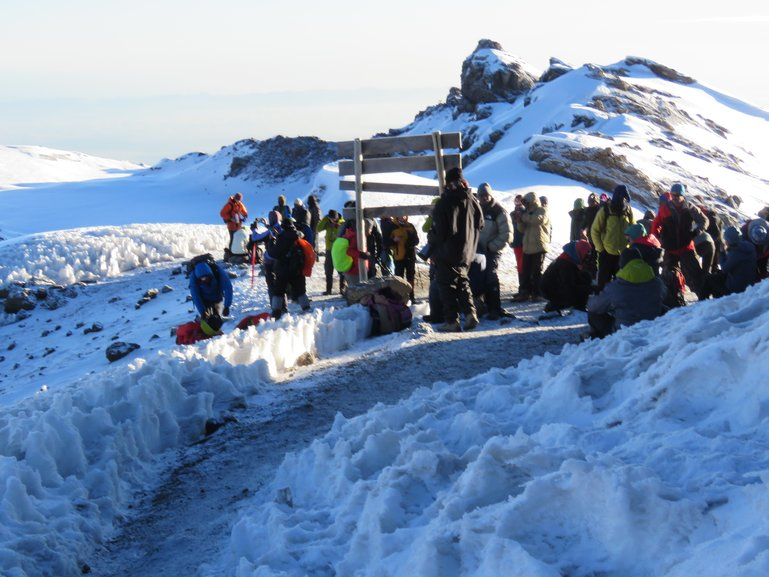 Machame Route Kilimanjaro Climb (Summit)