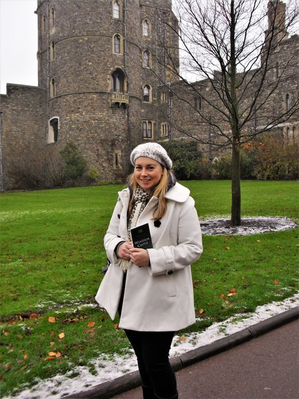 Myself on the grounds of Windsor Castle