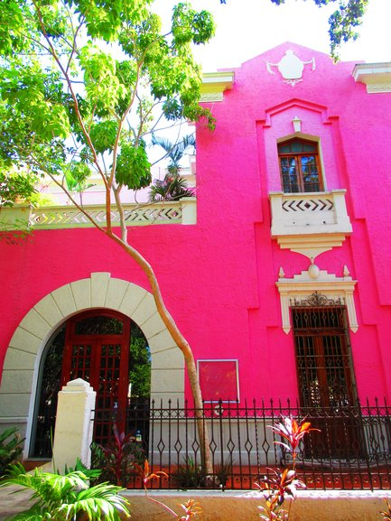 Colourful Building in Merida