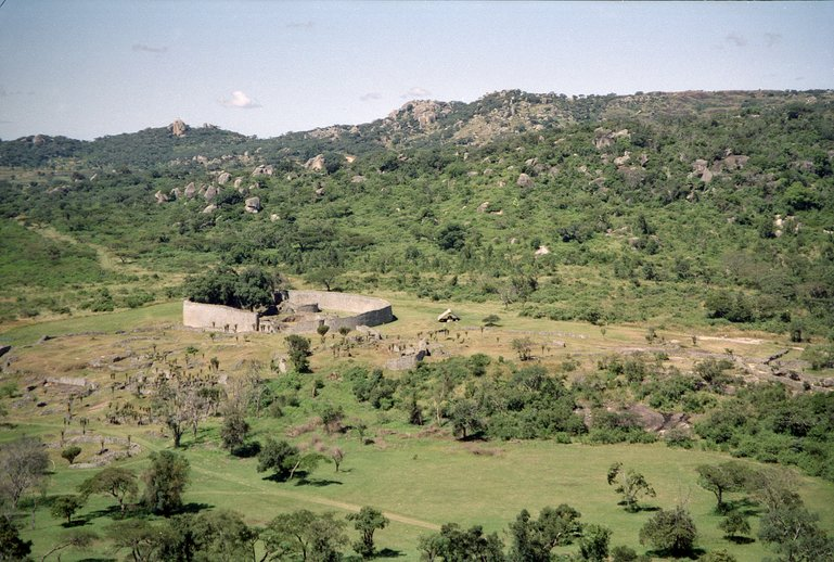 The ruins city of Great Zimbabwe
