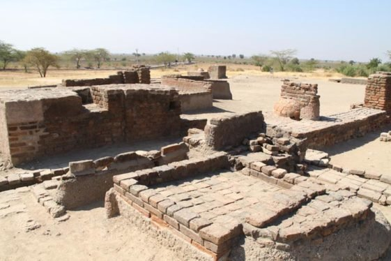 Lothal was one the most prominent city in the ancient Indus Valley Civilization as a significant port trading gem, ornaments, and beads