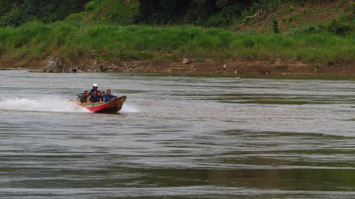 Don't take speedboats on the Mekong