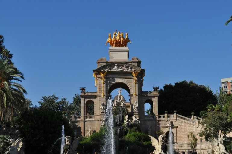 Monumental Fountain at the Ciutadella Park