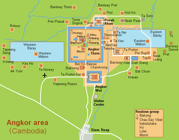 Map of the Temples (Wikimedia)