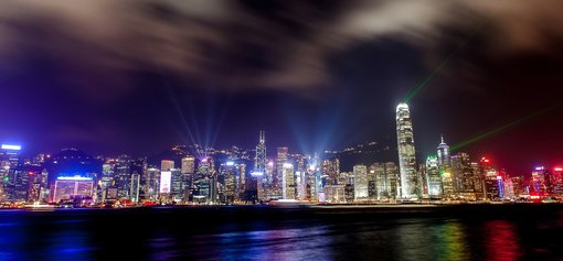 A Symphony of Lights, Hong Kong's light and sound show