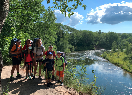 Backpacking the Manistee River Trail