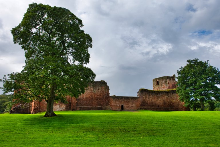 The ruins of Bothwell Castle