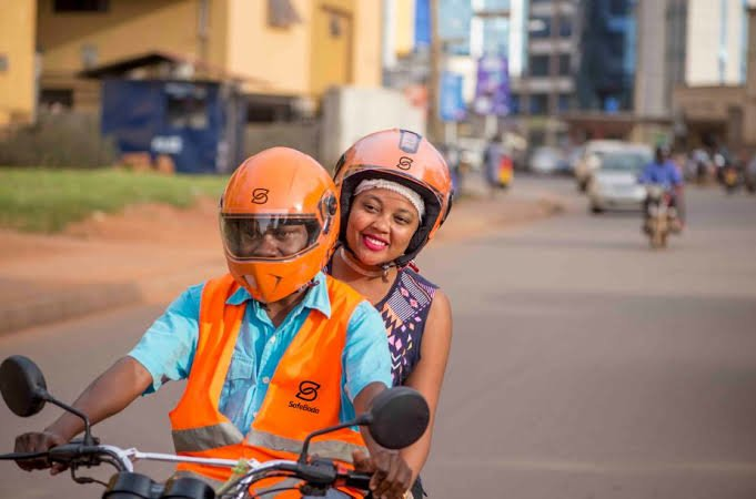 Getting around on a safe boda
