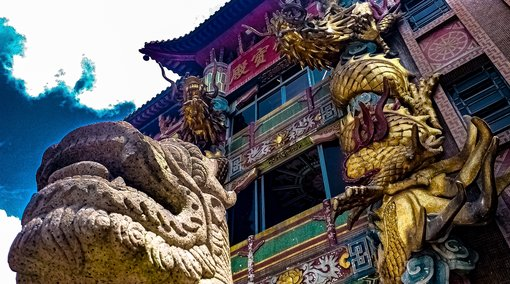 Hidden Gems of Hong Kong: Monastery of Lotus Sutra (Miu Fat)