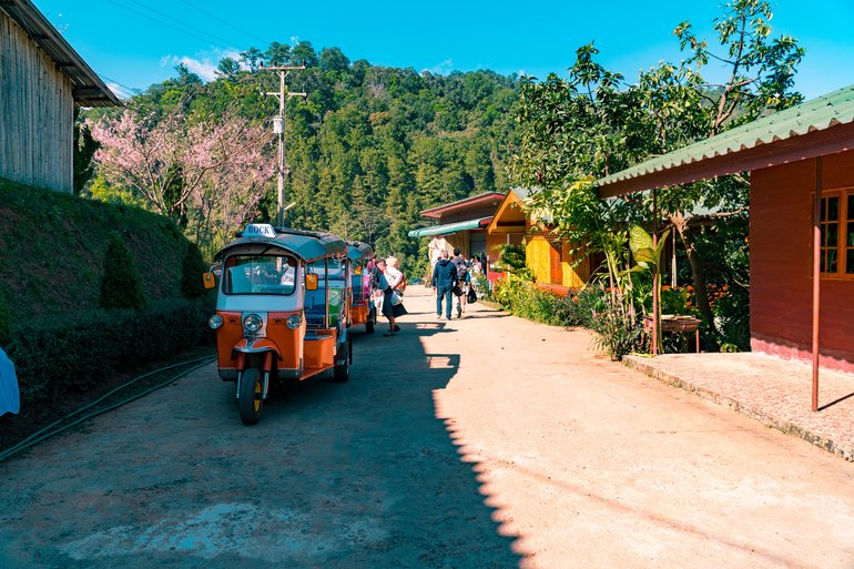 TUK TUKS AND MOUNTAIN VILLAGES