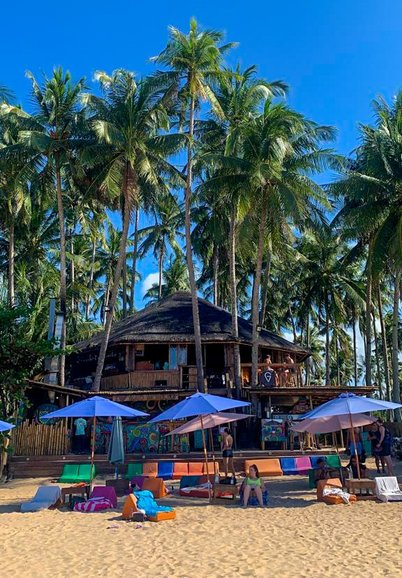 Mad Monkey Hostel, Nacpan Beach