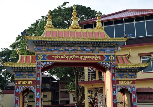 Mini Tibet in Bylakuppe