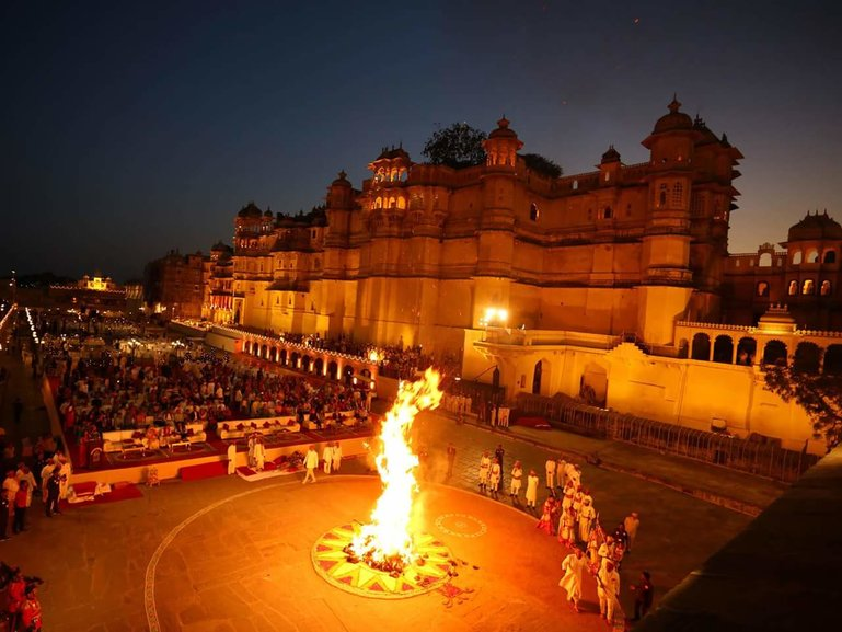 Burning of Holika, PS- Rajputana Times