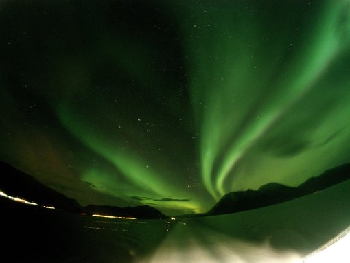 Watching Norway's Northern Lights