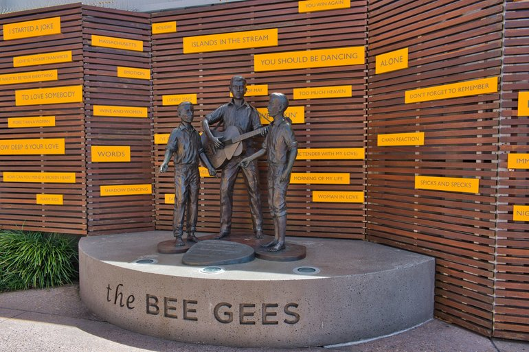 The young Bee Gees during there time in Redcliffe and during there hey-day