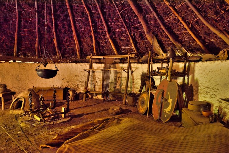 Inside the Iron Age Roundhouse