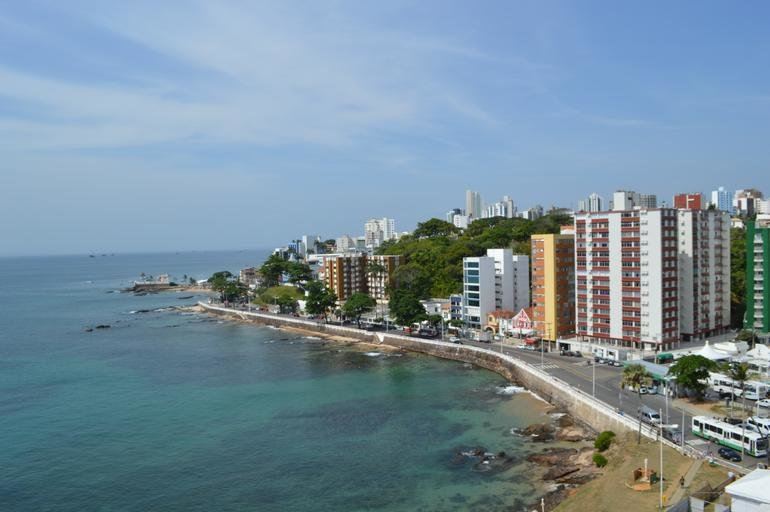 Beach in Salvador, Bahía, Brazil